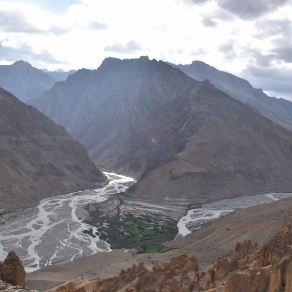 View from Dhankar